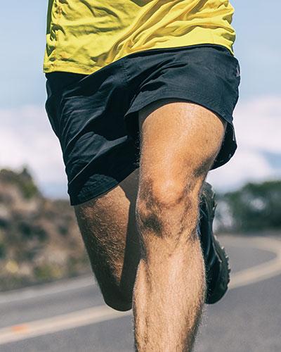 bewegliches Knie